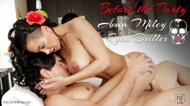 Amia Miley,Ryan Driller - Before The Party