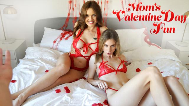 Anya Olsen, Krissy Lynn - Moms Valentines Day Fun