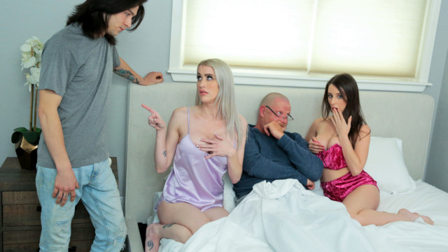 Candice Dare, Lexi Lore - Family Swap Dad