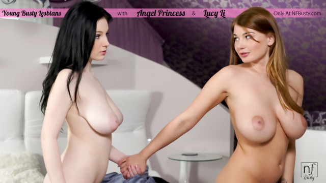 Angel Princess,Lucy Li - Young Busty Lesbians